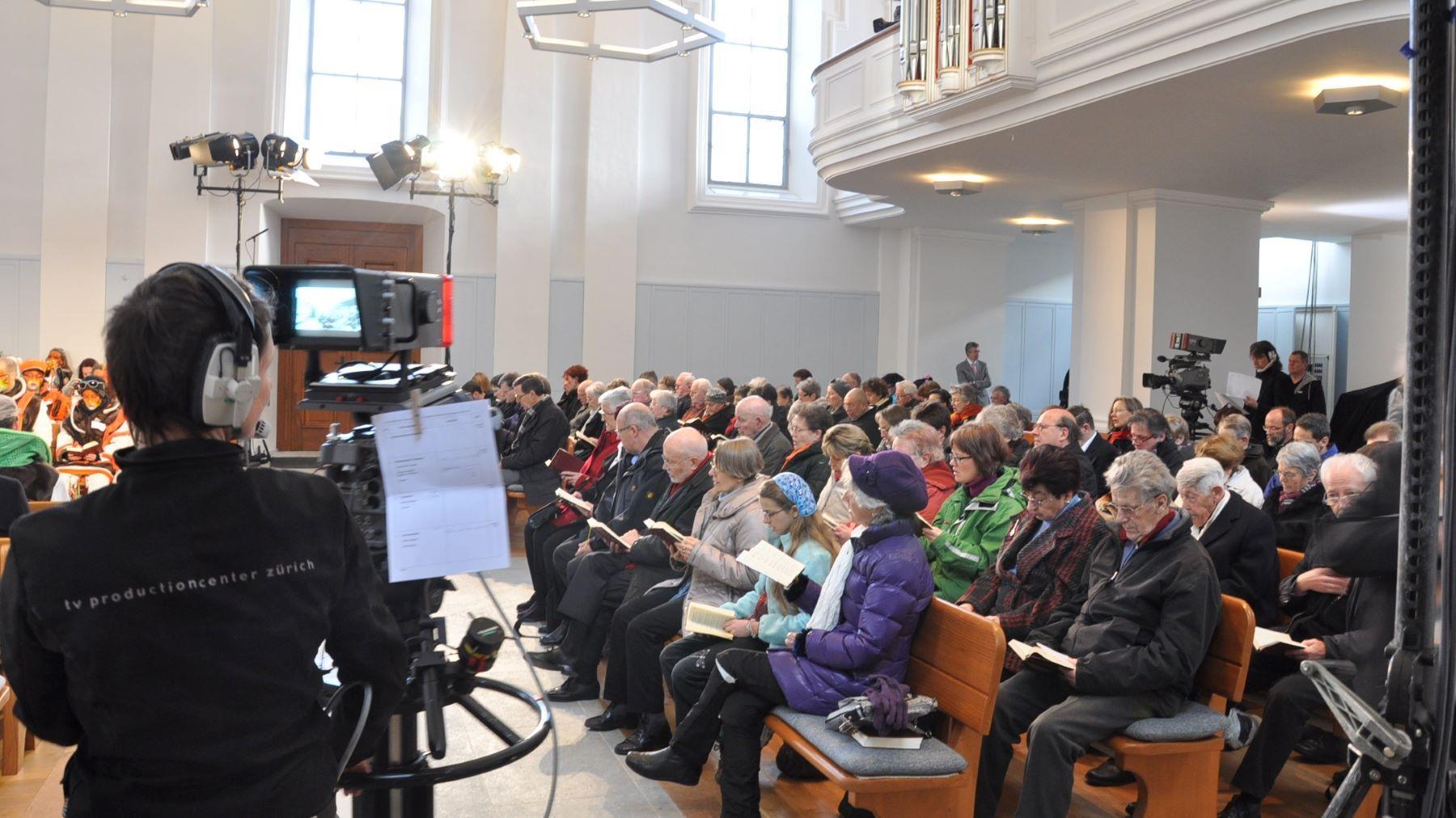 TV Gottesdienst 6 Mrz11 Baden 1 Kamera L Bertschi 1800 16 9
