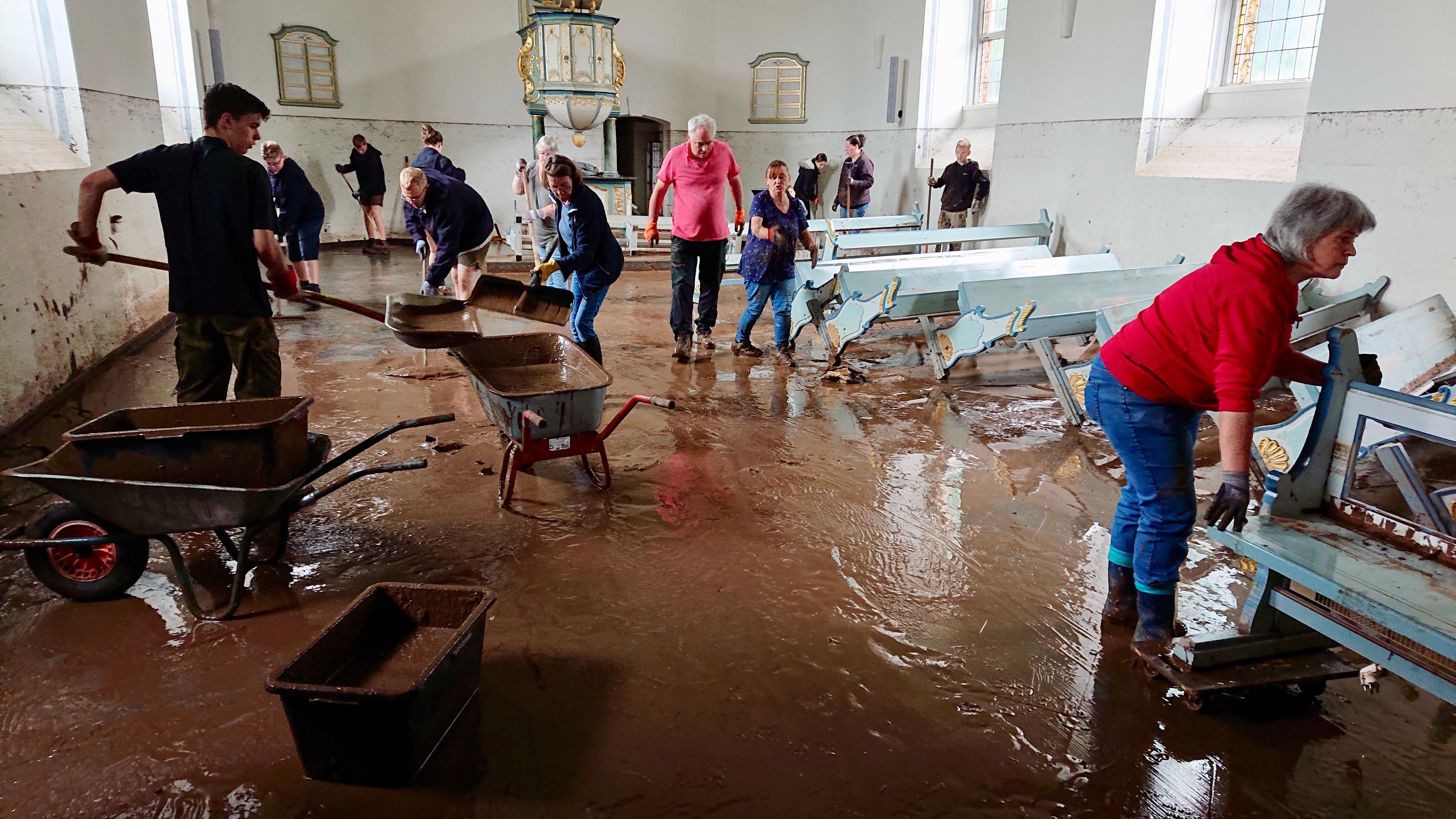 Hochwasser Schleiden Hans Joachim Juergens 3