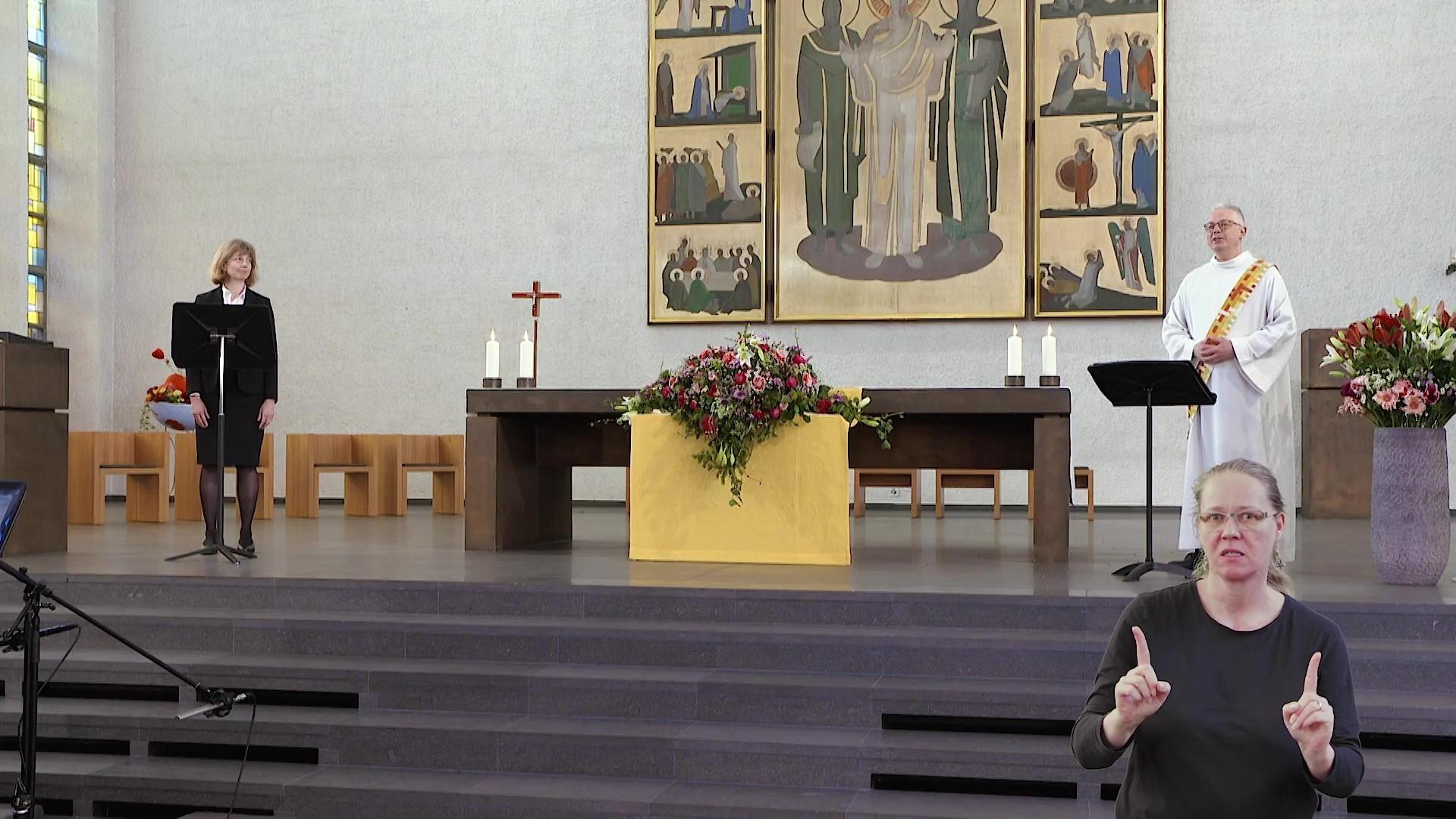 Oek Gottesdienst Ostersonntag2021 aus Aarau Moment1