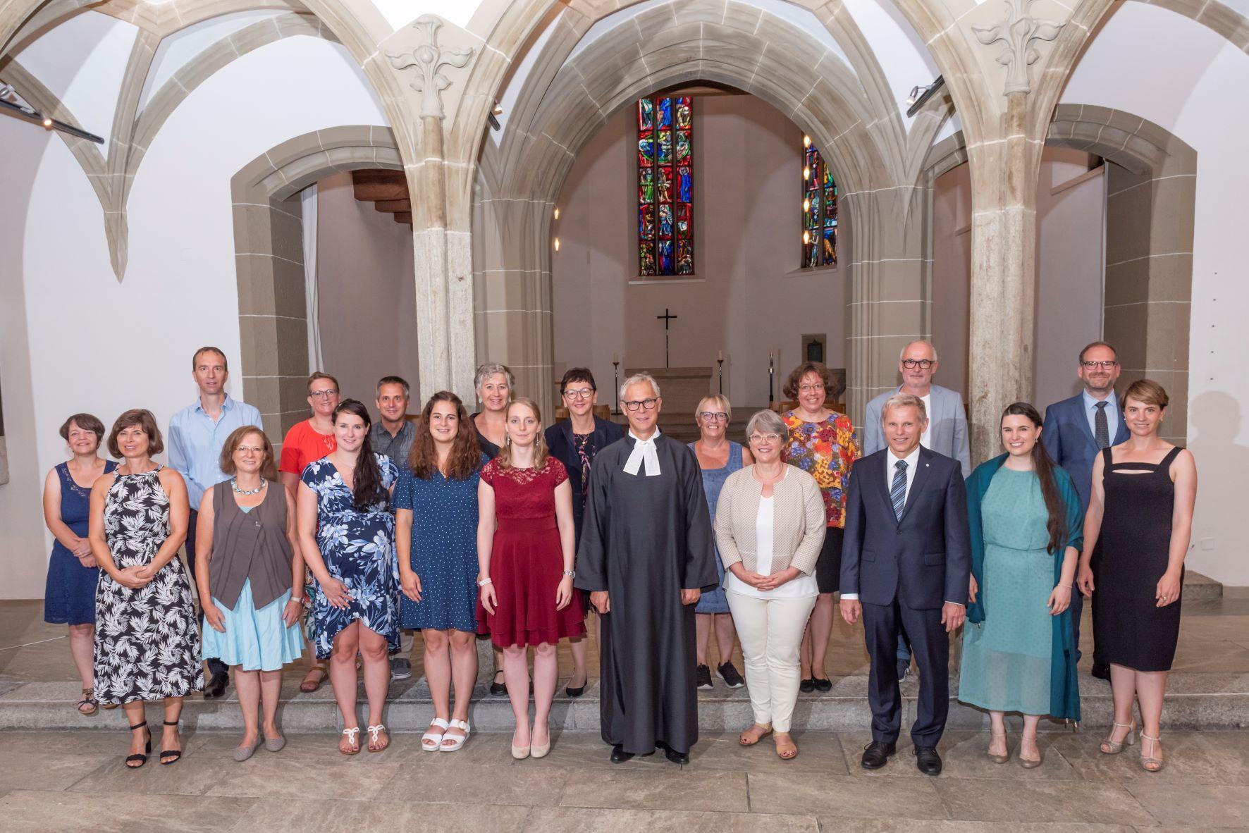 Ordination 15 Aug21 Aarau Gruppe Begleitpersonen Werner Rolli 1x