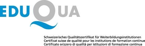 Logo eduqua mit text